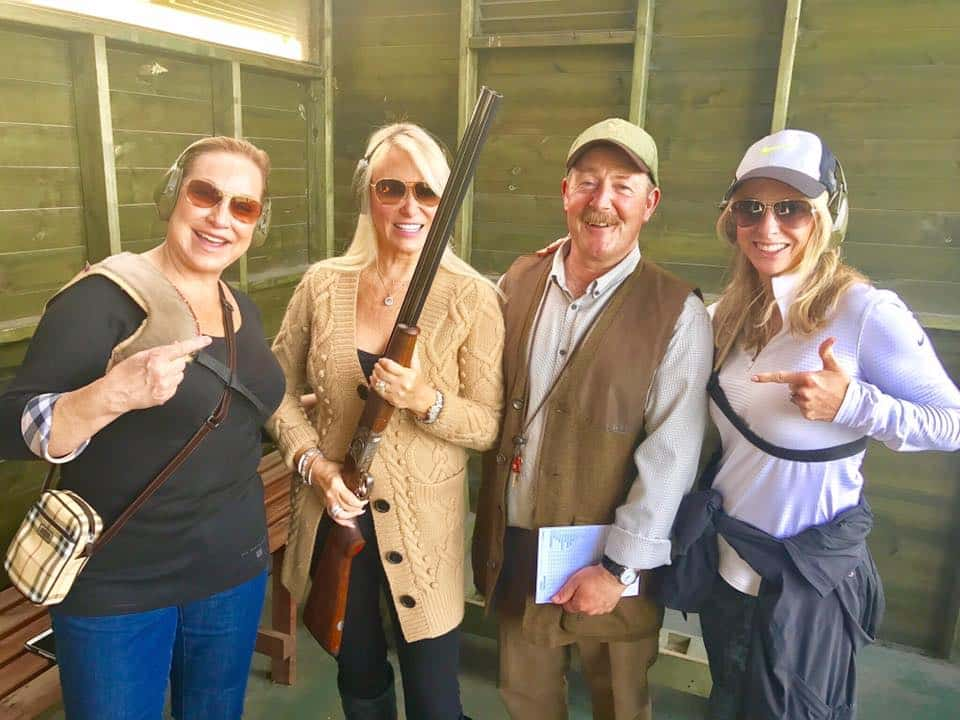 Leslie and Duncans At Shooting Range