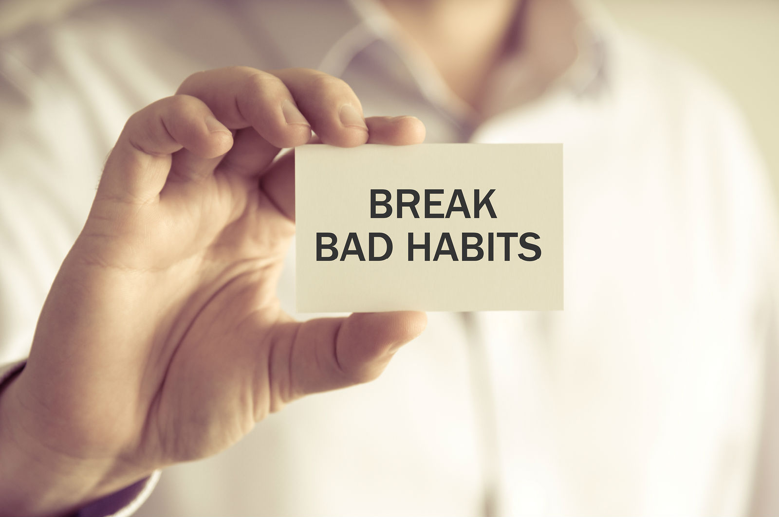 Gain Courage To Free Yourself From Bad Habits: Try These Simple Hacks