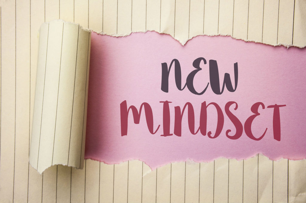 new mindset positive attitude